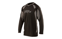 Royal Racing Turbulence LS Bike Jersey men black/ash